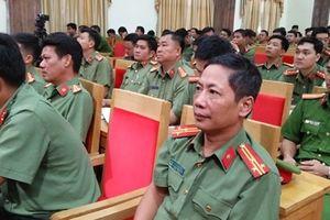 Bộ Công an tập huấn điều lệnh và bắn súng quân dụng CAND