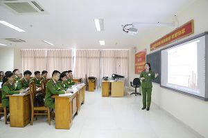 Khai mạc Hội thi 'Nữ giảng viên dạy giỏi Học viện CSND'