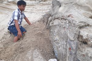 Phát hiện một ngôi mộ, nghi là mộ cổ ở Quảng Nam