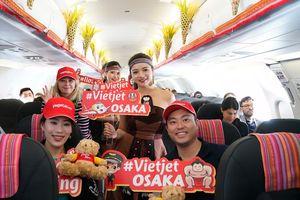 VietJet: Khai trương đường bay đến Nhật Bản