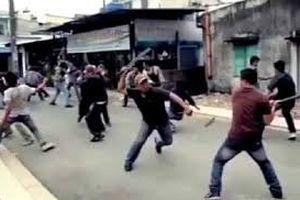 9 thanh niên đánh, chém nhau, 1 người tử vong