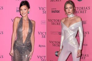 Bella Hadid diện mốt không nội y dự tiệc Victoria's Secret Show