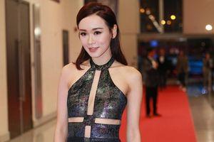 Dàn sao nữ Trung Quốc xuất hiện gợi cảm trên thảm đỏ Hoa Đỉnh