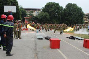Nâng cao nghiệp vụ chữa cháy và cứu nạn cho lực lượng cơ sở