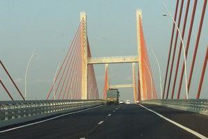 Quảng Ninh: Điều chỉnh cầu Bạch Đằng ở tốc độ tối đa 100km/h