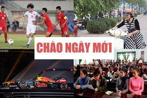 Tuyển Việt Nam khởi đầu thuận lợi tại AFF Cup 2018, siêu xe đua F1 đến Việt Nam được tìm kiếm nhiều nhất ngày