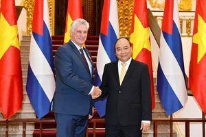 Việt Nam – Cuba hướng tới tăng gấp đôi kim ngạch thương mại trong 4 năm tới