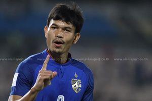 ĐT Thái Lan vùi dập Timor Leste 7-0 bằng kỷ lục 6 bàn thắng của Adisak