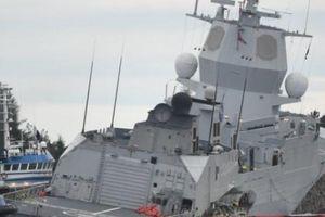 Na Uy: Chiến hạm chủ lực 5.000 tấn chìm dần vì bị tàu chở dầu đâm