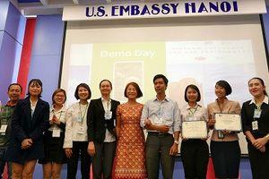 Đại sứ quán Hoa Kỳ công bố đội chiến thắng cuộc thi 'Khởi nghiệp vì Môi trường'