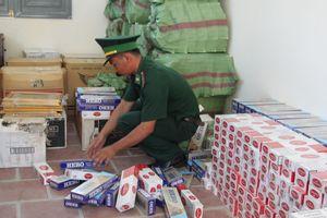 Thu giữ 5.000 gói thuốc lá ngoại nhập lậu