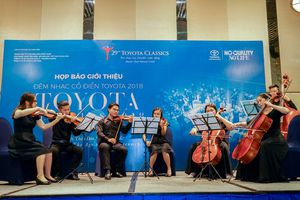 Đêm nhạc cổ điển Toyota 2018 sẽ thăng hoa với dàn nhạc Anh quốc