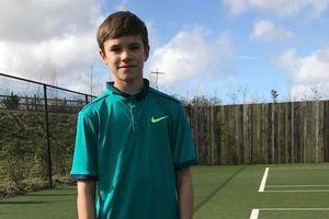 Con trai Beckham nghiêm túc theo đuổi quần vợt chuyên nghiệp
