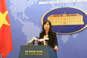 Việt Nam yêu cầu Trung Quốc chấm dứt ngay việc khai trương trạm khí tượng trên quần đảo Trường Sa