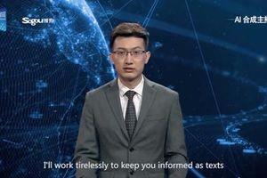 Trung Quốc có người dẫn chương trình bằng AI
