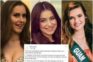 Ban tổ chức 'Hoa hậu Trái đất' chính thức lên tiếng về scandal quấy rối tình dục