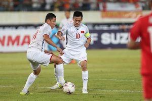 Đội trưởng ĐT Việt Nam gặp chấn thương ở trận đấu mở màn với ĐT Lào