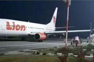 Máy bay Lion Air lại gặp tai nạn