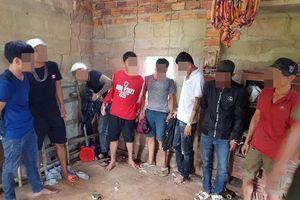Quảng Nam:13 đối tượng 'xóc đĩa' trong ngôi nhà hoang