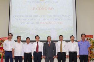 Bổ nhiệm Phó Chánh án TAND cấp cao tại TP Hồ Chí Minh