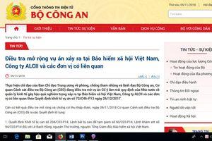 Khởi tố, bắt tạm giam nguyên Tổng Giám đốc BHXH Việt Nam