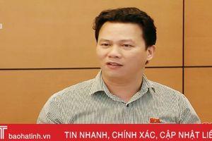 Trưởng đoàn ĐBQH Hà Tĩnh tâm huyết góp ý dự án Luật Kiến trúc