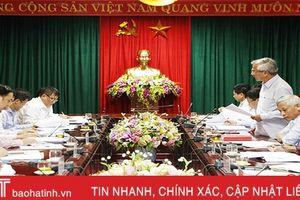 Hà Tĩnh chi trả kịp thời phụ cấp cán bộ Đảng, đoàn thể trong doanh nghiệp