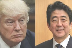 Lãnh đạo Mỹ-Nhật Bản điện đàm về thương mại và Triều Tiên