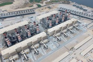 Cận cảnh nhà máy điện lớn nhất thế giới tại Ai Cập