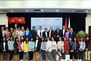 Trao giải Cuộc thi 'Phóng viên trẻ Pháp ngữ-Việt Nam 2018'