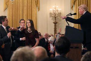 Báo chí Mỹ sục sôi vụ Tổng thống Trump 'cấm cửa' phóng viên CNN