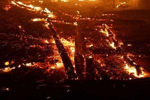 Cháy rừng ở California, lửa lan thiêu 80 sân bóng/phút