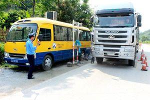 Thanh tra phát hiện 1.820 xe vi phạm tải trọng