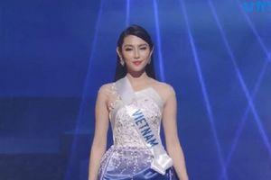 Thùy Tiên trượt top 15 Hoa hậu Quốc tế 2018