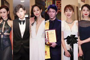Vắng mặt dàn sao Hoa ngữ, Ngô Cẩn Ngôn - Hoàng Cảnh Du xuất hiện bên nghệ sĩ TVB tại 'Đêm trao giải Hoa Đỉnh 2018'