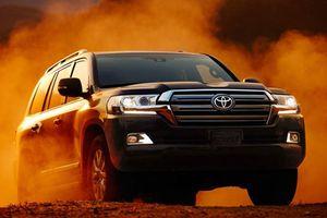 Toyota Land Cruiser 2019 cao cấp hơn đời cũ, giá từ 88.544 USD