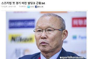 Báo chí Hàn Quốc lại khen 'ma thuật' của HLV Park Hang Seo