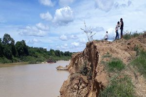 Sở TN&MT Đắk Lắk đề xuất xử lý sai phạm về khai thác cát tại Krông Pắc