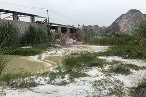 Thanh Hóa: Báo động tình trạng ô nhiễm ở Cụm công nghiệp núi Vức