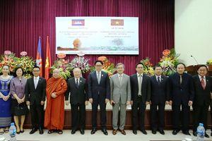 Củng cố, phát triển quan hệ hữu nghị hợp tác Việt Nam – Campuchia