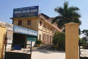 Thu hồi 4 Giấy phép của Công ty CP Khai thác và Chế biến Khoáng sản Bắc Giang