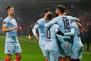 Europa League: Giroud lập công, Chelsea giành vé vào vòng knock-out