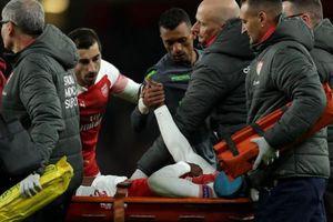 Sao Arsenal vỡ mắt cá, nguy cơ nghỉ hết mùa