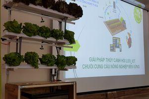 Hội thảo giới thiệu mô hình Trồng rau thủy canh hồi lưu kết hợp cảm biến IoT