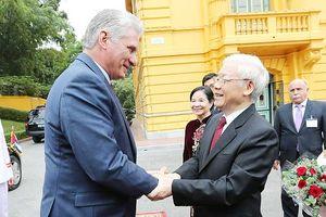 Tiếp tục xây dựng mối quan hệ VN-Cuba hiệu quả, thực chất