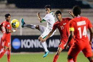 ĐT Indonesia phá hỏng thành tích của bóng đá nước nhà trong năm 2018