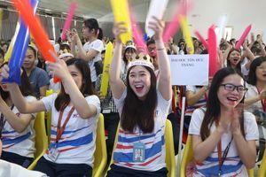 Đội dự thi Trường ĐH Luật TP.HCM giành giải Nhất game show 'Bản quyền và sáng tạo'