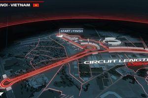 Flycam: Nơi đặt đường đua F1 'có 1 không 2' trên thế giới ở Hà Nội