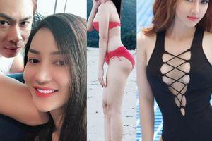 Giảm 11kg sau sinh, bạn gái Hồ Việt Trung nóng bỏng mê người