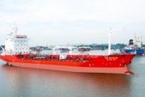 Bàn giao tàu chở dầu/hóa chất 6.500 tấn cho Hàn Quốc